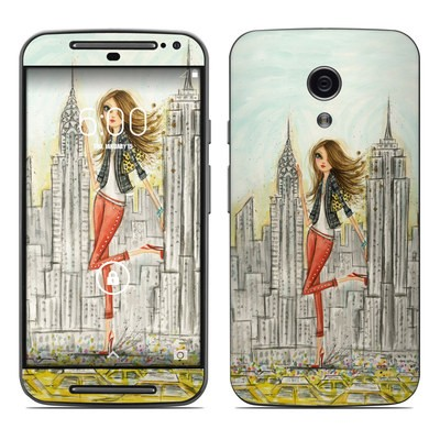 Motorola Moto G Second Gen Skin - The Sights New York