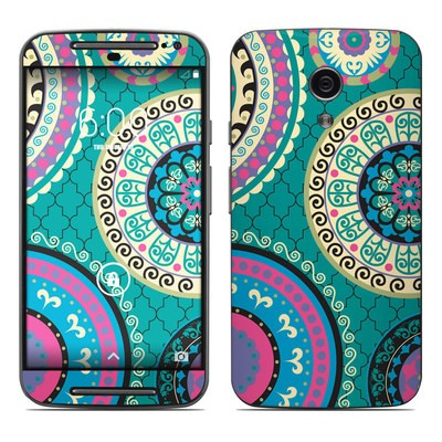 Motorola Moto G Second Gen Skin - Silk Road