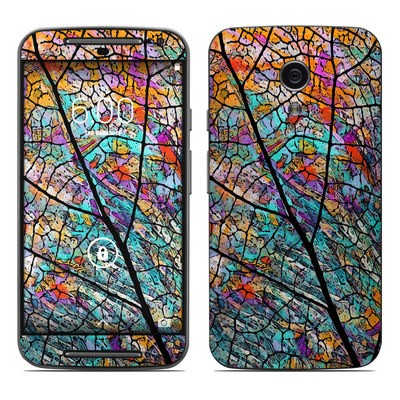 Motorola Moto G Second Gen Skin - Stained Aspen