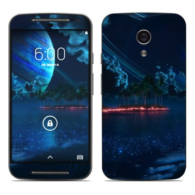Motorola Moto G Second Gen Skin - Thetis Nightfall