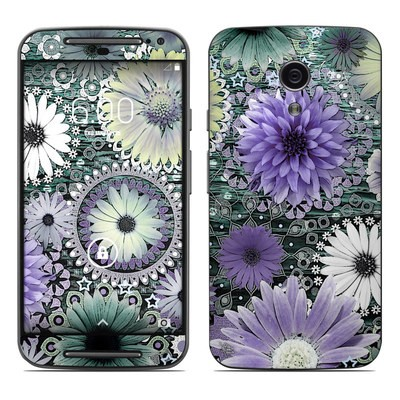 Motorola Moto G Second Gen Skin - Tidal Bloom