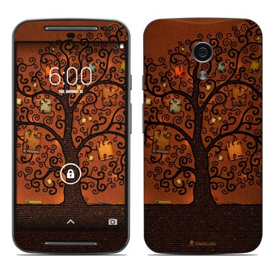 Motorola Moto G Second Gen Skin - Tree Of Books