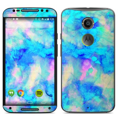 Motorola Moto X 2014 Skin - Electrify Ice Blue