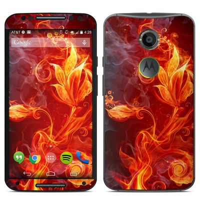 Motorola Moto X 2014 Skin - Flower Of Fire