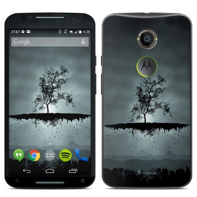 Motorola Moto X 2014 Skin - Flying Tree Black