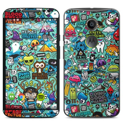 Motorola Moto X 2014 Skin - Jewel Thief