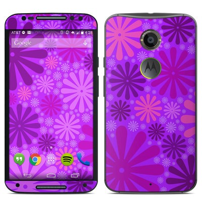 Motorola Moto X 2014 Skin - Purple Punch