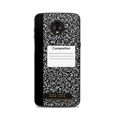 Motorola Moto Z3 Skin - Composition Notebook