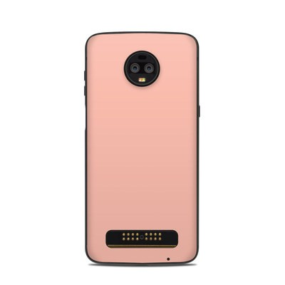 Motorola Moto Z3 Skin - Solid State Pink by Solid Colors | DecalGirl