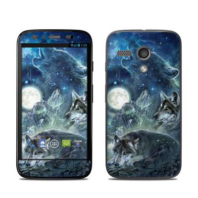 Motorola Moto G Skin - Bark At The Moon