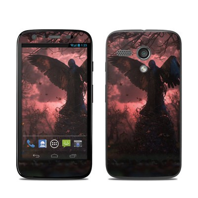 Motorola Moto G Skin - Black Angel
