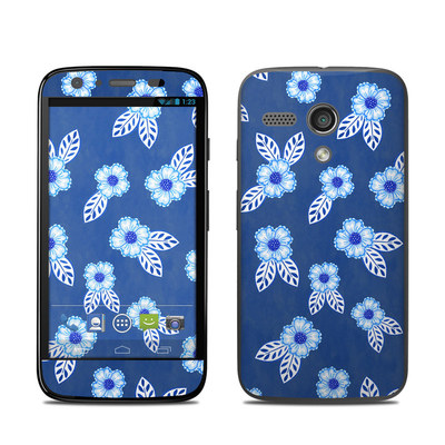 Motorola Moto G Skin - China Blue