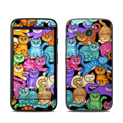 Motorola Moto G Skin - Colorful Kittens