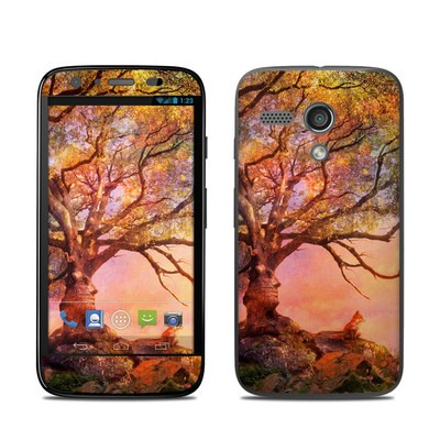 Motorola Moto G Skin - Fox Sunset