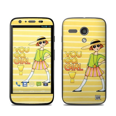Motorola Moto G Skin - You Go Girl