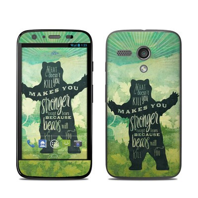 Motorola Moto G Skin - What Doesnt Kill You