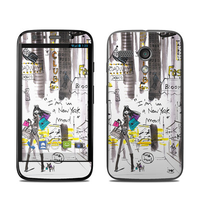 Motorola Moto G Skin - My New York Mood