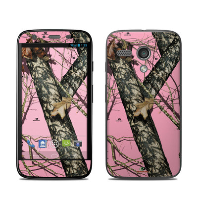Motorola Moto G Skin - Break-Up Pink