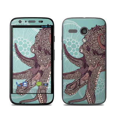 Motorola Moto G Skin - Octopus Bloom