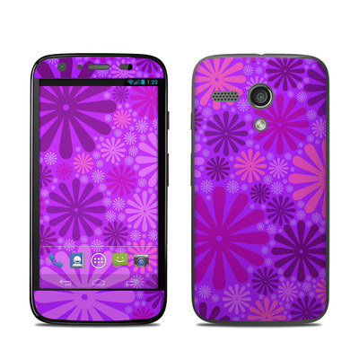 Motorola Moto G Skin - Purple Punch