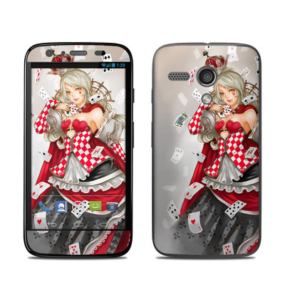 Motorola Moto G Skin - Queen Of Cards