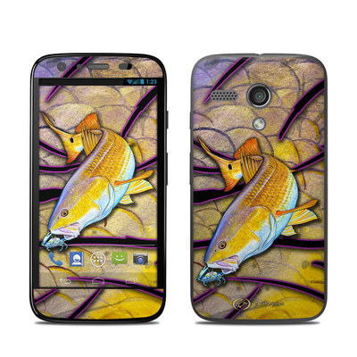 Motorola Moto G Skin - Red Fish