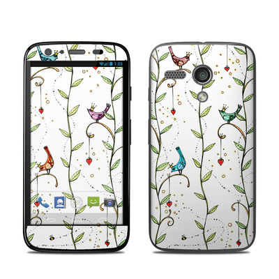 Motorola Moto G Skin - Royal Birds