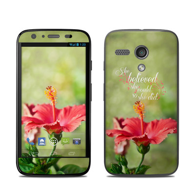 Motorola Moto G Skin - She Believed