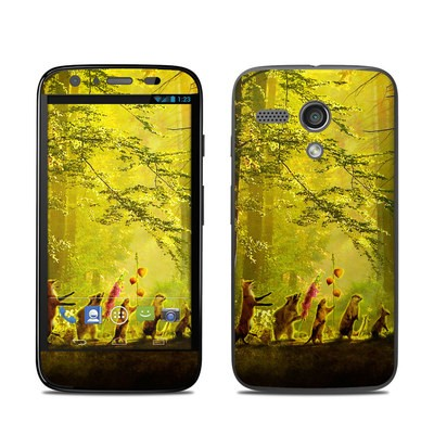 Motorola Moto G Skin - Secret Parade
