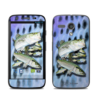 Motorola Moto G Skin - Striped Bass