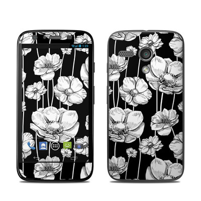 Motorola Moto G Skin - Striped Blooms