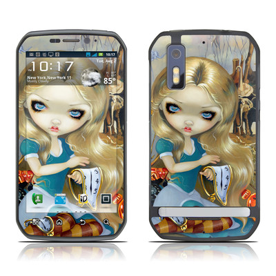 Motorola Photon Skin - Alice in a Dali Dream