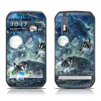 Motorola Photon Skin - Bark At The Moon