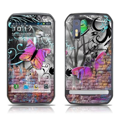 Motorola Photon Skin - Butterfly Wall