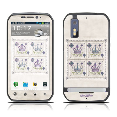 Motorola Photon Skin - Purple Crown