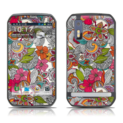 Motorola Photon Skin - Doodles Color