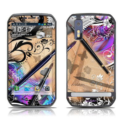 Motorola Photon Skin - Dream Flowers