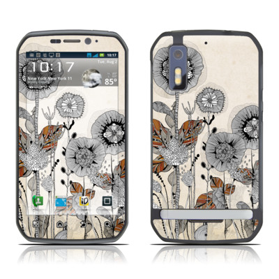 Motorola Photon Skin - Four Flowers