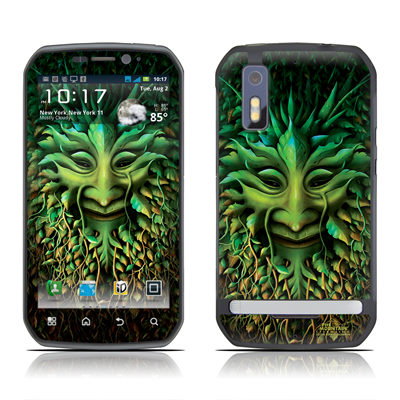 Motorola Photon Skin - Greenman