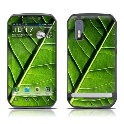 Motorola Photon Skin - Green Leaf