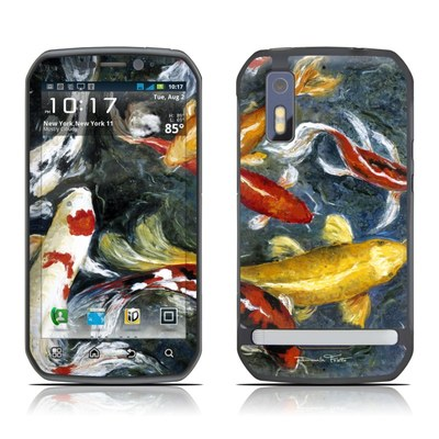 Motorola Photon Skin - Koi's Happiness