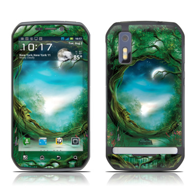 Motorola Photon Skin - Moon Tree