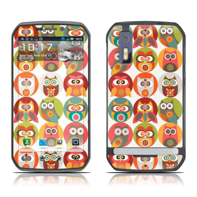 Motorola Photon Skin - Owls Family