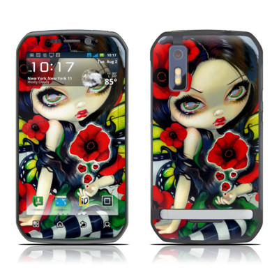 Motorola Photon Skin - Poppy Magic