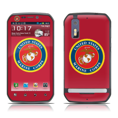 Motorola Photon Skin - USMC Red