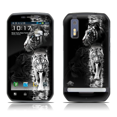 Motorola Photon Skin - White Tiger