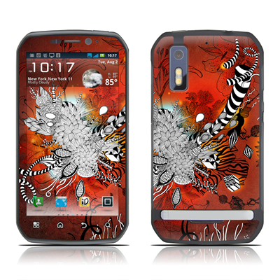 Motorola Photon Skin - Wild Lilly