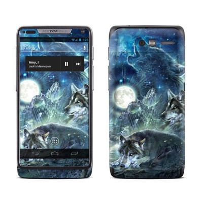 Motorola Razr M Skin - Bark At The Moon