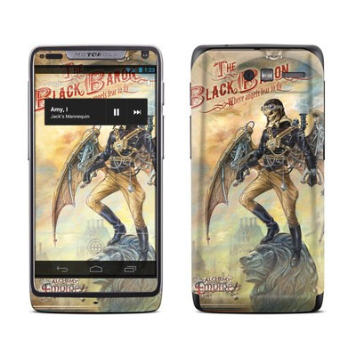 Motorola Razr M Skin - The Black Baron