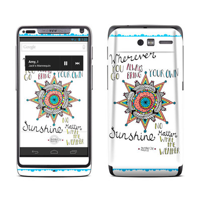 Motorola Razr M Skin - Bring Your Own